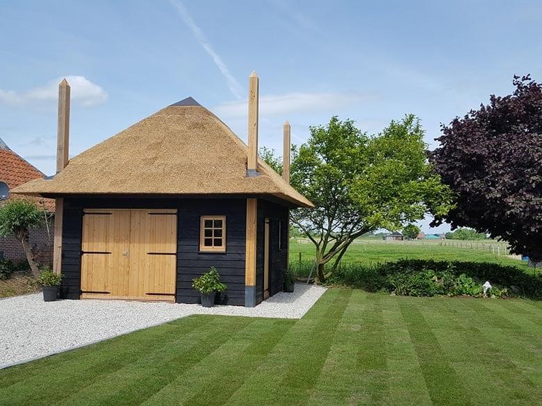 Den Hartog riet - Opgeleverd project houtbouw