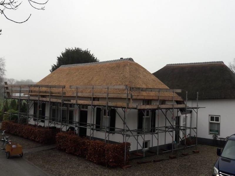 Den Hartog riet - Rieten dak vervangen te Bruchem
