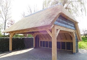 Den Hartog riet - carport