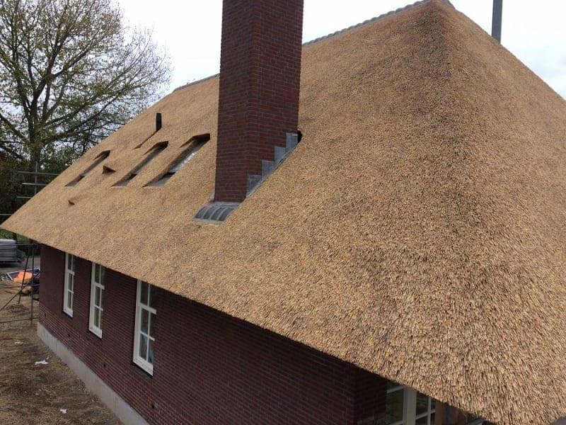 Den Hartog riet - Rietdekken landhuis in Delwijnen