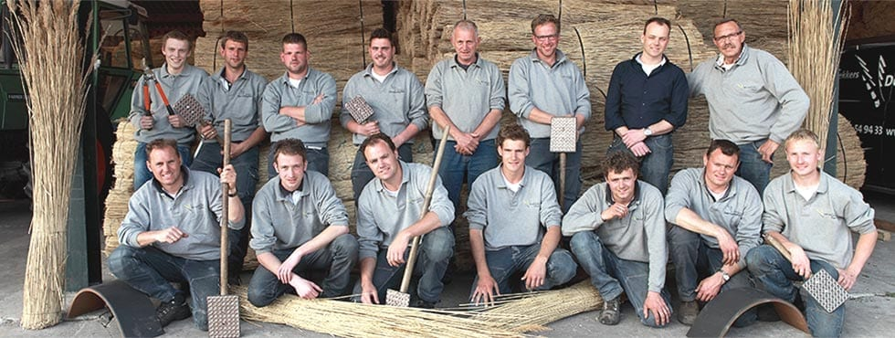 Derde generatie familiebedrijf rietspecialisten