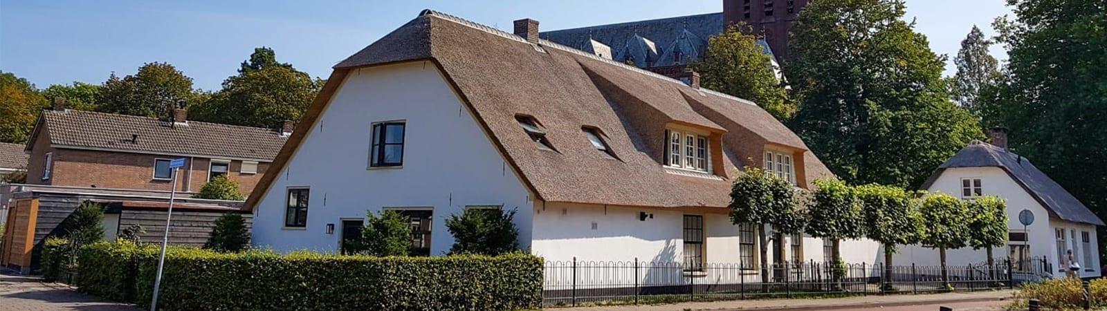 Aankoopkeuring rieten dak