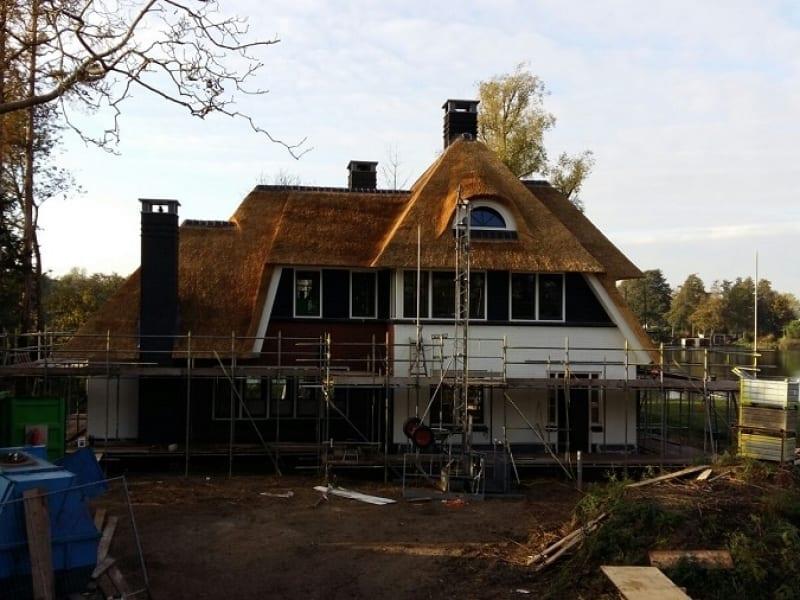 Den Hartog riet - Villa rietdekken in Heerjansdam