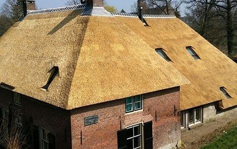 Rietdekker - Rieten dak