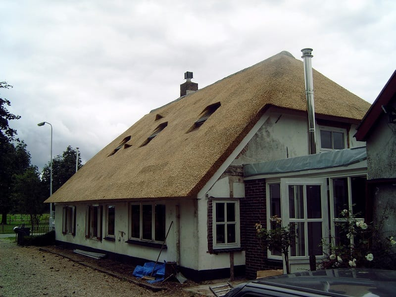 Den Hartog riet - Woonboerderij met schroefdak