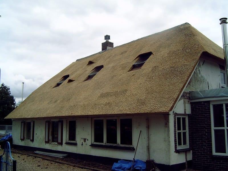 Woonboerderij met schroefdak