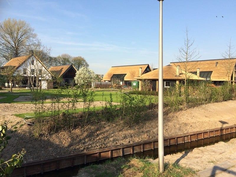Den Hartog riet - Rietdekken Plan 'De Landheeren' te Barendrecht