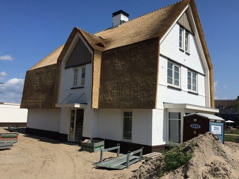 Project met 18 woningen