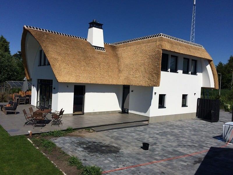 Rietdekken villa in Gouda