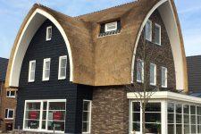 Den Hartog riet - Speelse ronde lijnen, zorgen voor strak dak