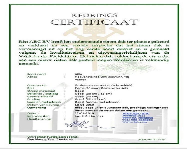 Prachtige woning, met een keurings certificaat