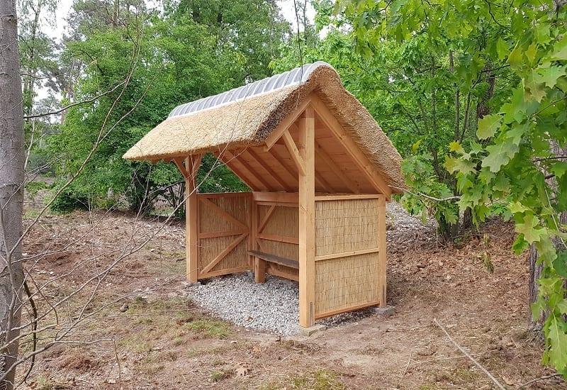 Douglas houten schuilhutten