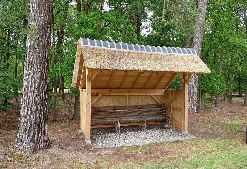 Den Hartog riet - Douglas houten schuilhutten