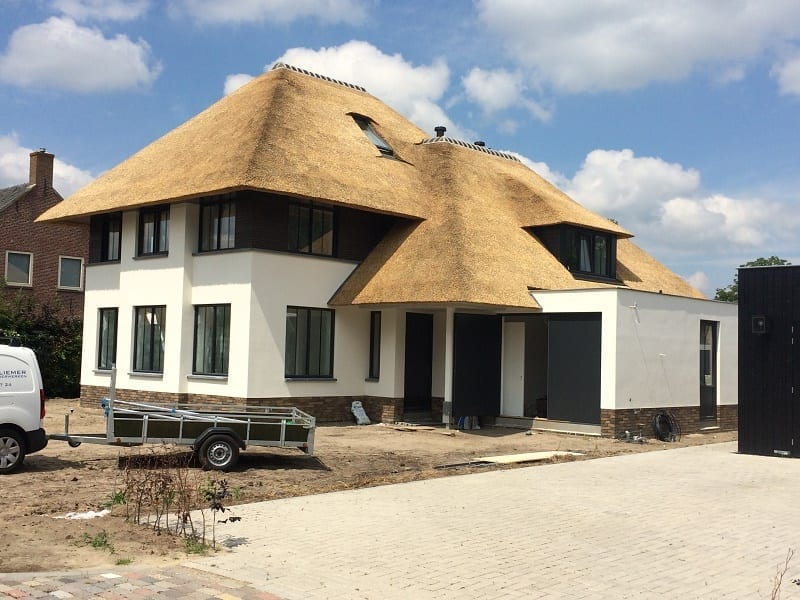 Den Hartog riet - Moderne Villa