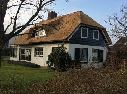 Den Hartog riet - Nieuw rieten dak met isolatie