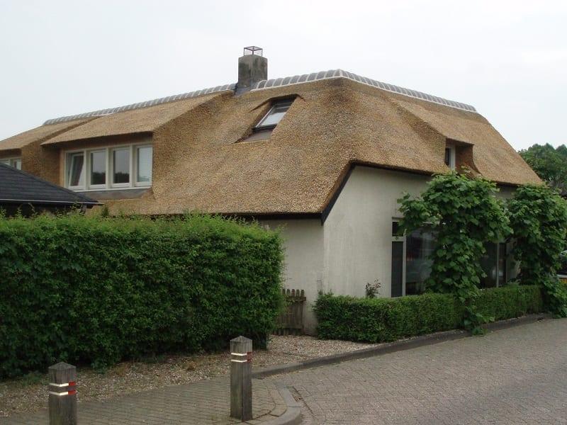 Woonhuis dakbedekking in Meteren - Den Hartog riet