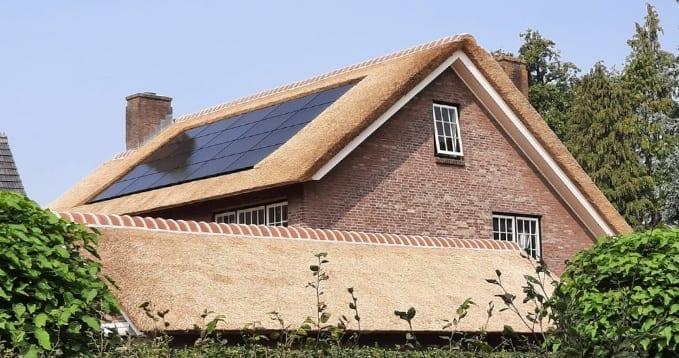 Rieten dak - Tot wel 30 jaar plezier van uw dak