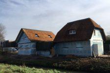 Den Hartog riet - Rietdekken woning in Sleeuwijk
