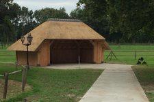 Den Hartog riet - Eikenhout bijgebouw