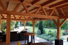 Den Hartog riet - Rietgedekte veranda te Leerdam
