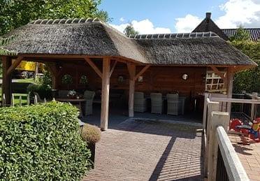 Den Hartog riet - veranda