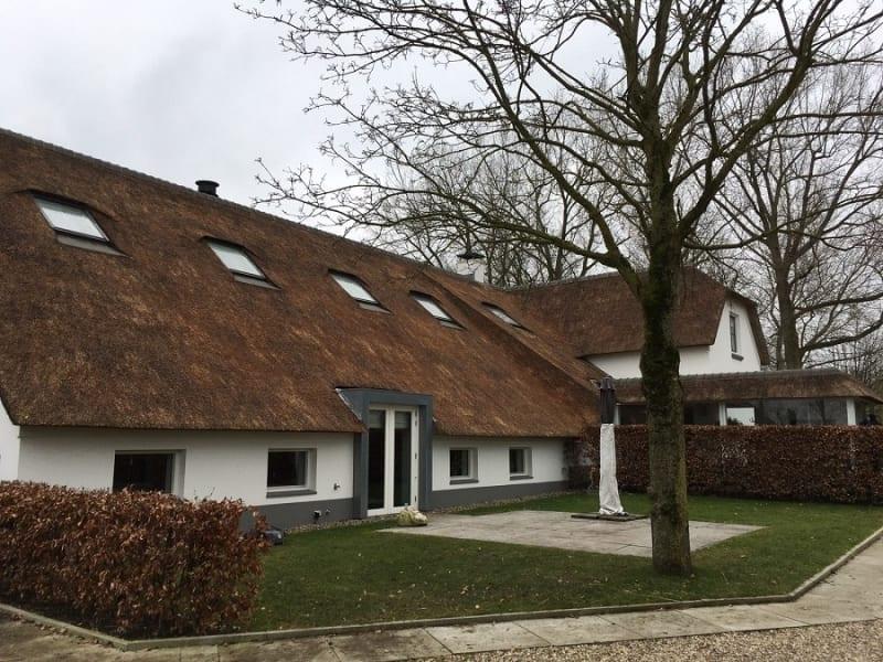 Den Hartog riet - Renovatie rieten dak te Vleuten