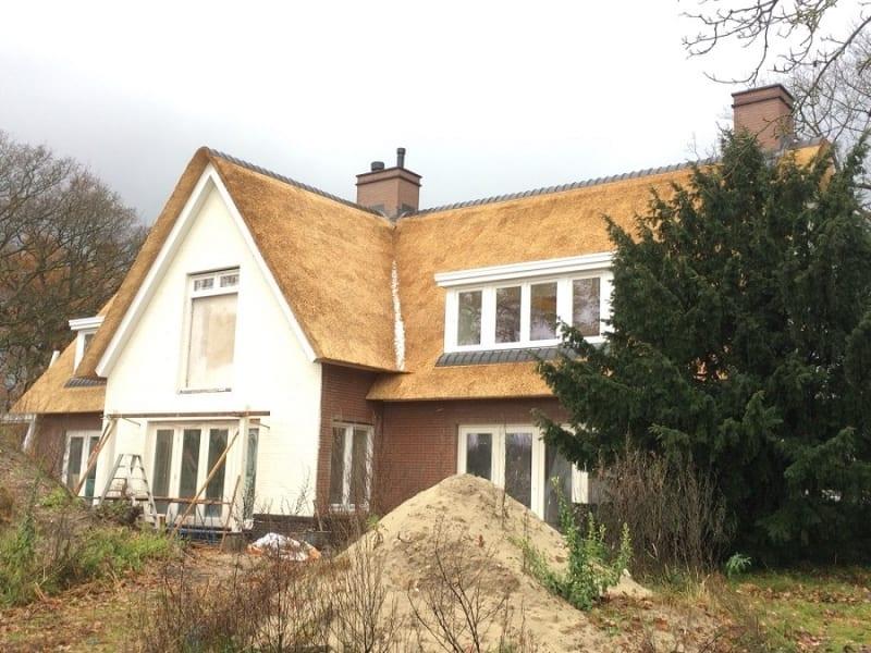 Rietdekken villa in Wassenaar